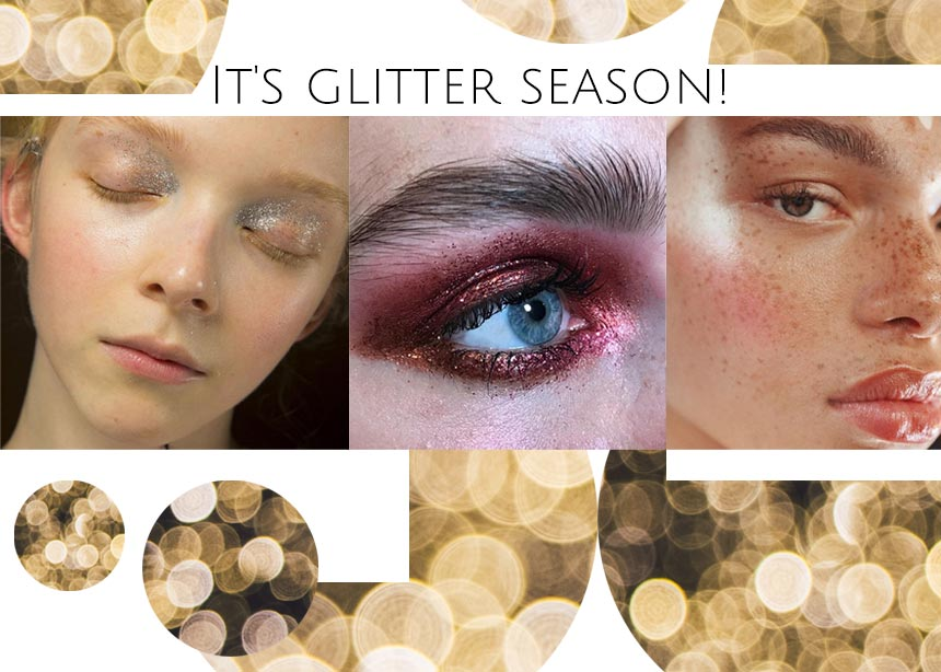 It's glitter season! 5 φρέσκοι τρόποι να φορέσεις glitter στο πρόσωπό σου! | tlife.gr