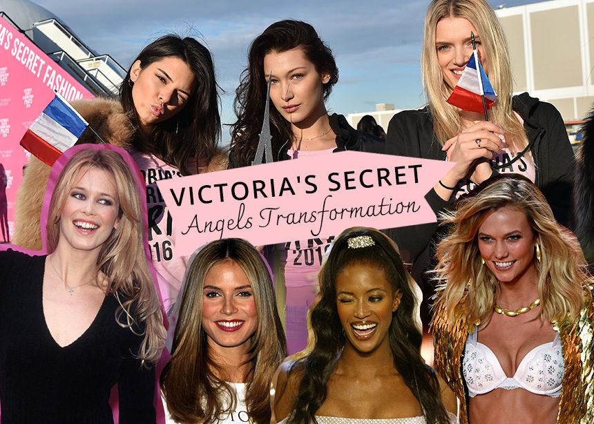Πόσο έχουν αλλάξει τα μαλλιά και το μακιγιάζ των Αγγέλων της Victoria Secret από το 1996 μέχρι σήμερα! | tlife.gr