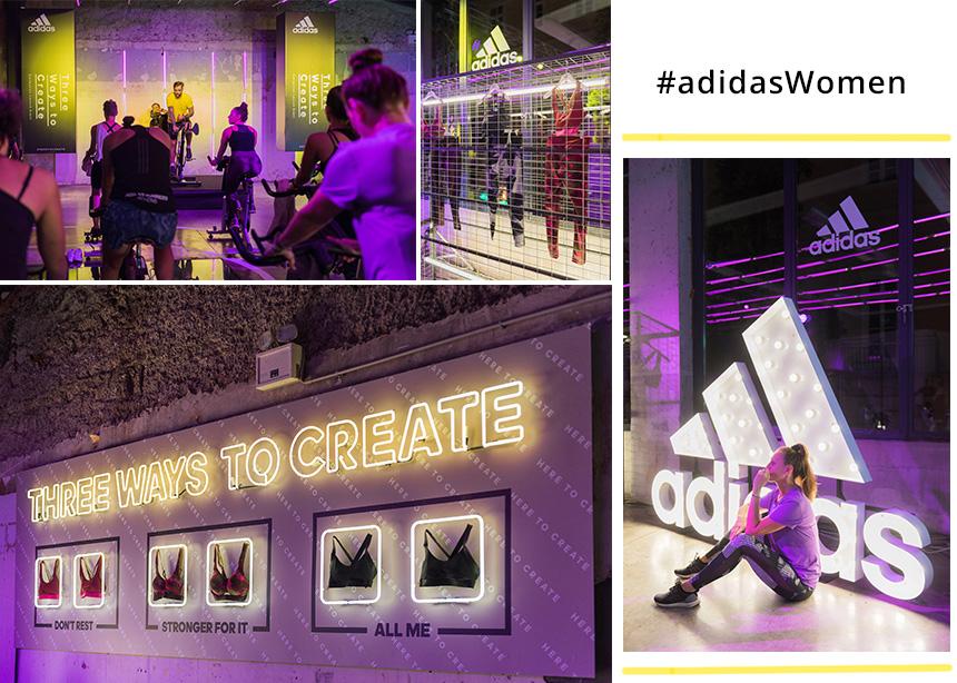 #adidasWomen: Γιορτάσαμε το λανσάρισμα της νέας Statement Collection με τον πιο ξεχωριστό τρόπο! | tlife.gr