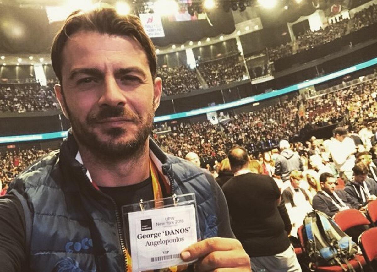 Γιώργος Αγγελόπουλος: Συνάντηση με πασίγνωστη σταρ του Χόλιγουντ στην Αμερική! | tlife.gr