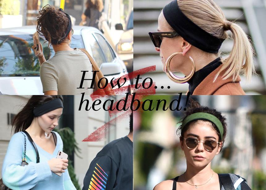 Αυτό το Σαββατοκύριακο φοράμε όλες headband στα μαλλιά! Να πώς! | tlife.gr