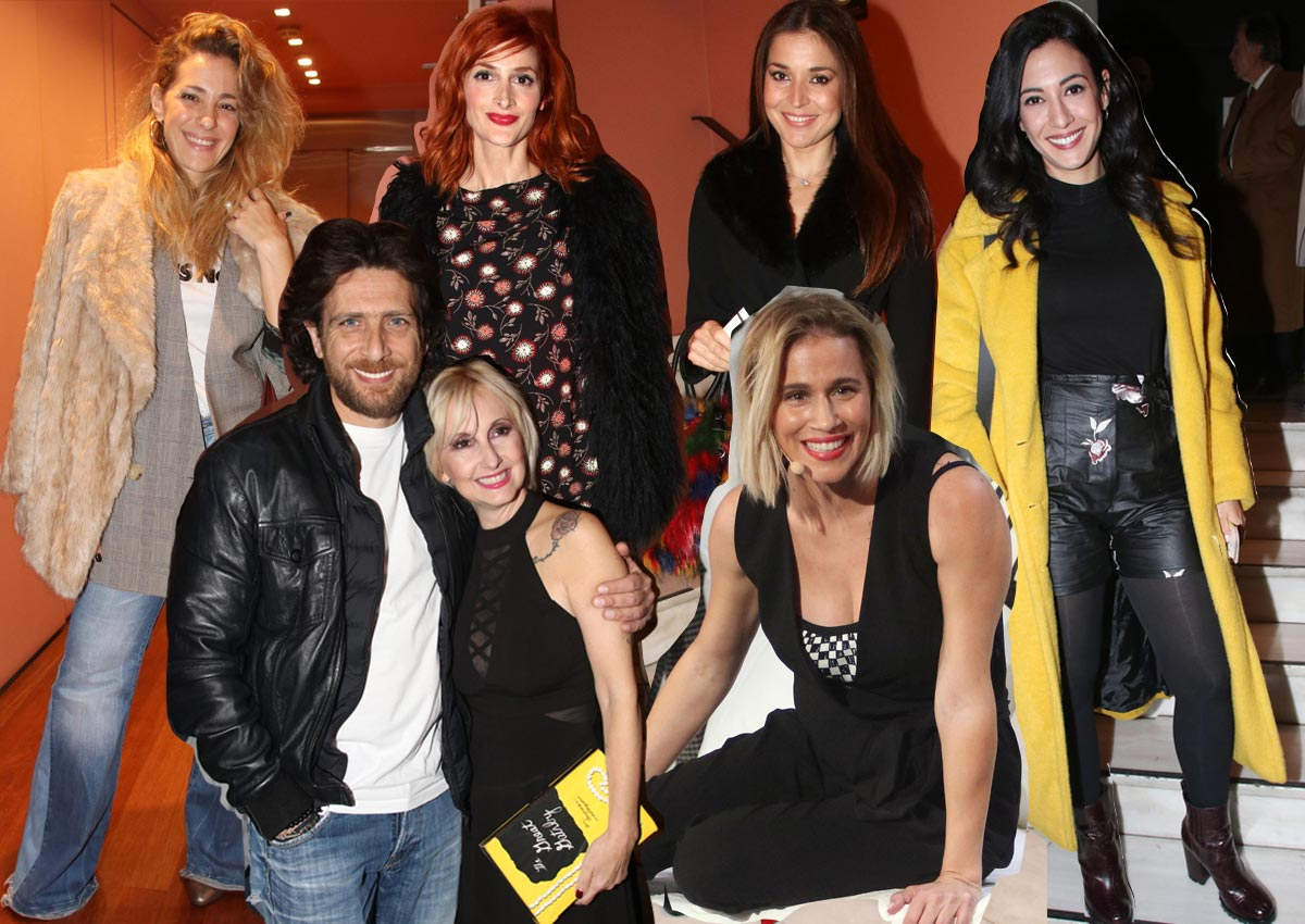 Λαμπερές παρουσίες στην πρεμιέρα της Νάντιας Μπουλέ στο «Μικρό Παλλάς»! [pics] | tlife.gr