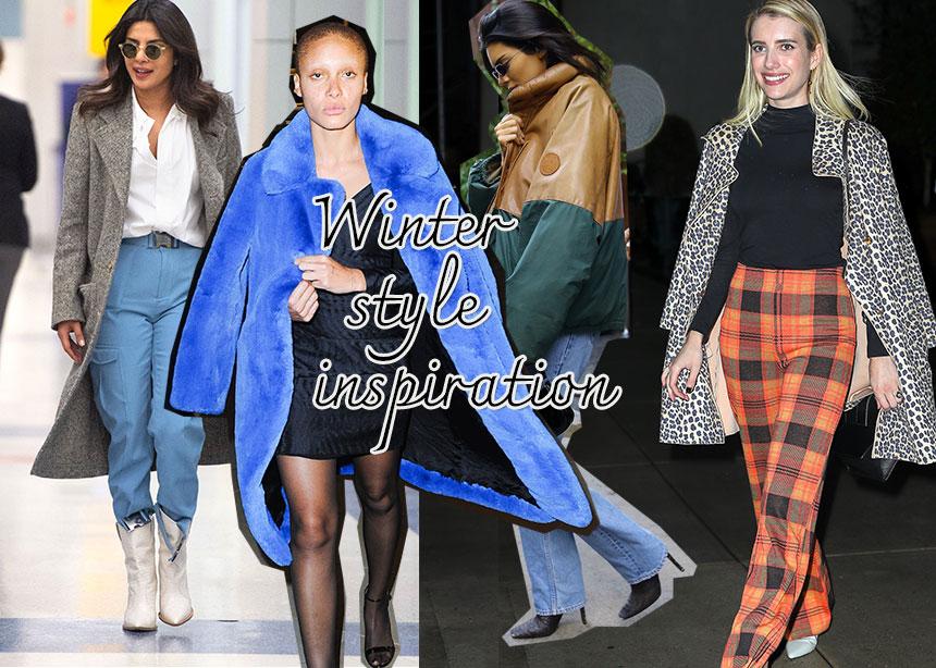 Η στιλιστική έμπνευση του Χειμώνα! Πάρε ιδέες από τα looks που φορούν οι σταρ τις κρύες μέρες | tlife.gr