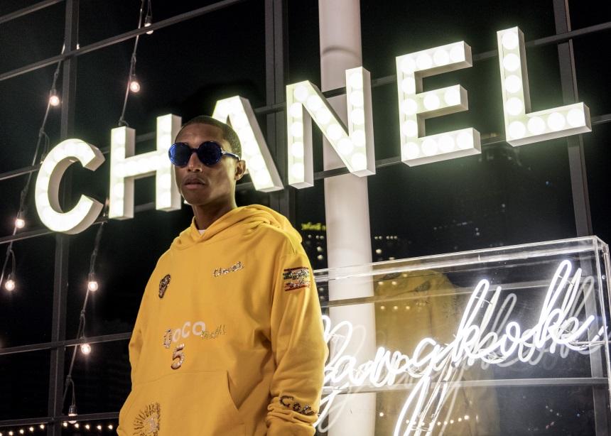 Ο Pharrell Williams υπογράφει μία capsule συλλογή για την Chanel! | tlife.gr