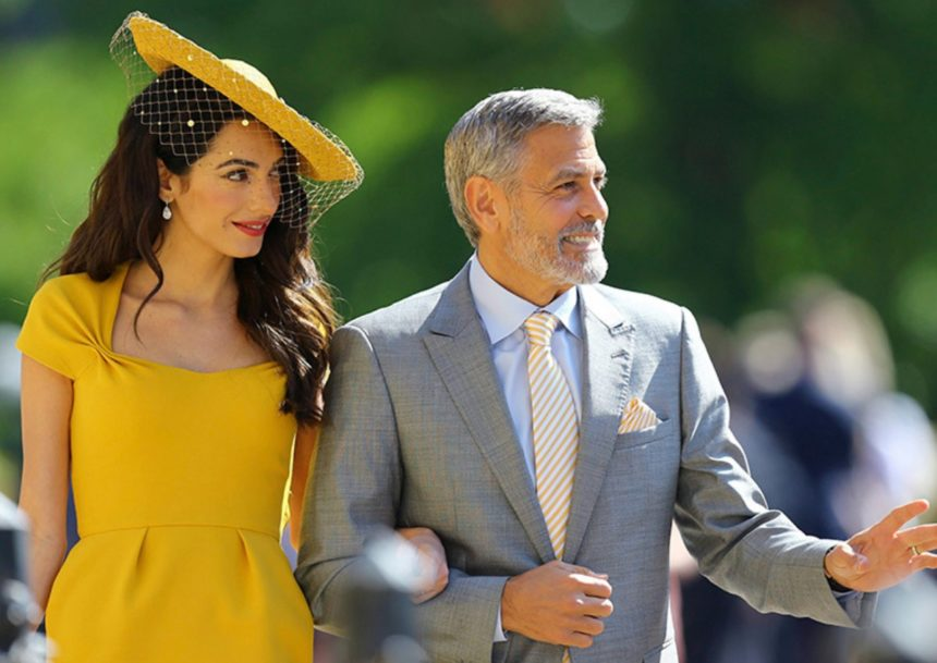 George Clooney – Amal Clooney: Θα βαφτίσουν το παιδί του πρίγκιπα Harry και της Meghan Markle! | tlife.gr
