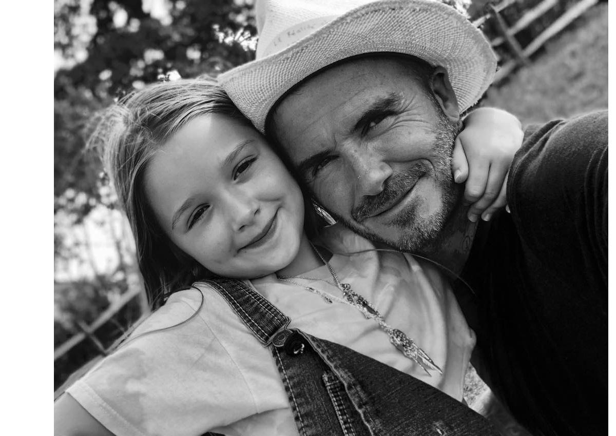 David Beckham: Έντονες αντιδράσεις για το φιλί στο στόμα που έδωσε στην κόρη του! | tlife.gr