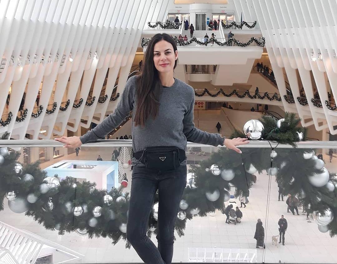 Εύη Βατίδου: Φωτογραφίζει ένα από τα πιο εντυπωσιακά κτίρια της Νέας Υόρκης! Φωτογραφίες | tlife.gr