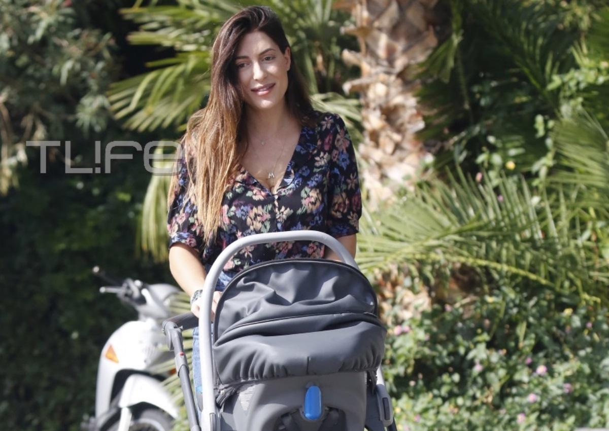 Φλορίντα Πετρουτσέλι: Βόλτες στην Γλυφάδα με την κόρη της! [pics] | tlife.gr