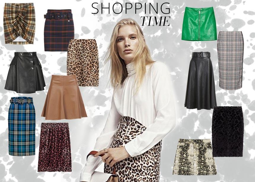 Δερμάτινες, με animal print ή καρό! Οι must have φούστες της αγοράς στη βιτρίνα του Tlife | tlife.gr