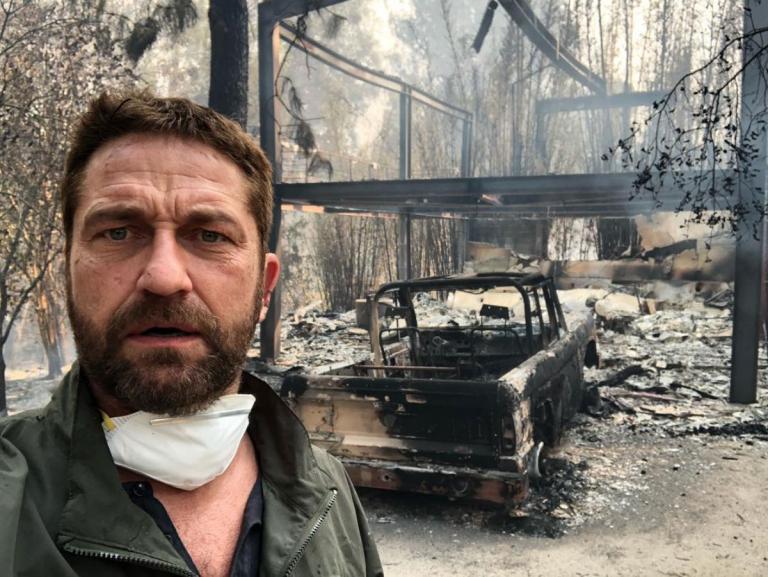 Γύρισε στο σπίτι του και βρήκε μόνο στάχτη – Σοκαρισμένος ο Τζέραρντ Μπάτλερ από την καταστροφή στην Καλιφόρνια [pic, vids] | tlife.gr