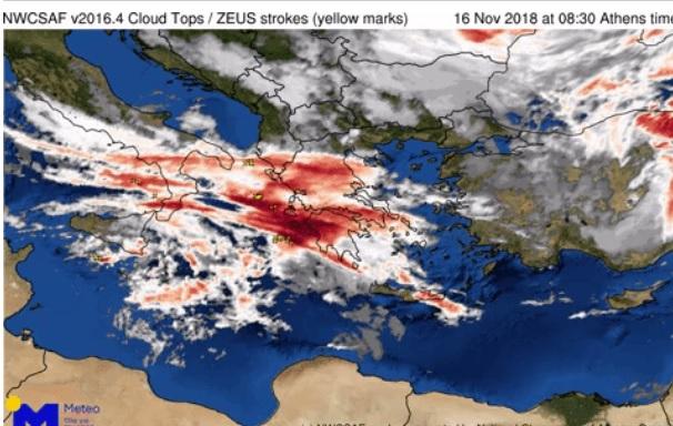 Kαιρός: Έκτακτο δελτίο επιδείνωσης – Βροχές, καταιγίδες, χαλάζι και χιόνια | tlife.gr