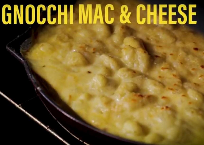 Λαχταριστά νιόκι mac & cheese φούρνου για τις κρύες νύχτες