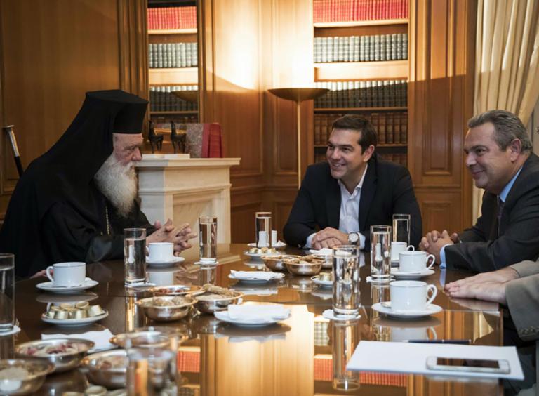 Συμφωνία για τη σχέση Κράτους – Εκκλησίας υπό το… άγρυπνο βλέμμα του Καμμένου! | tlife.gr