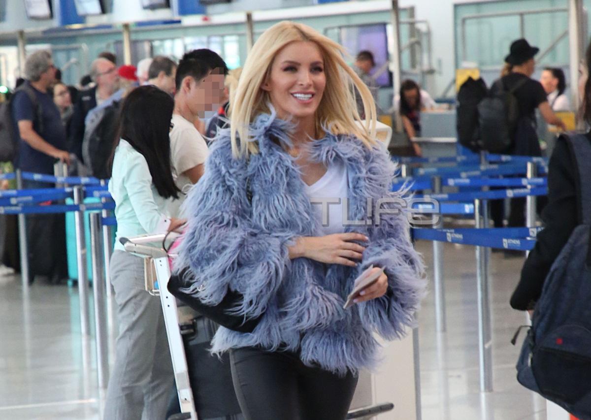 Κατερίνα Καινούργιου: Στο αεροδρόμιο με άψογο look λίγο πριν συναντήσει τον αγαπημένο της στο Βέλγιο [pics] | tlife.gr
