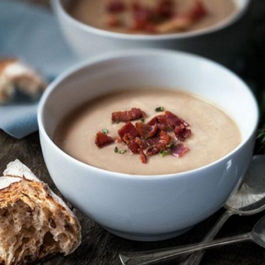 Σούπα βελουτέ με κάστανα και μπέικον | tlife.gr