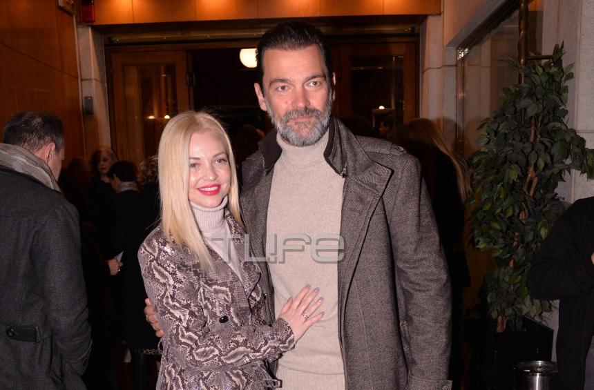 Κωνσταντίνος Καζάκος – Ιωάννα Μαρτζούκου: Βραδινή έξοδος για το ερωτευμένο ζευγάρι! [pics]   tlife.gr