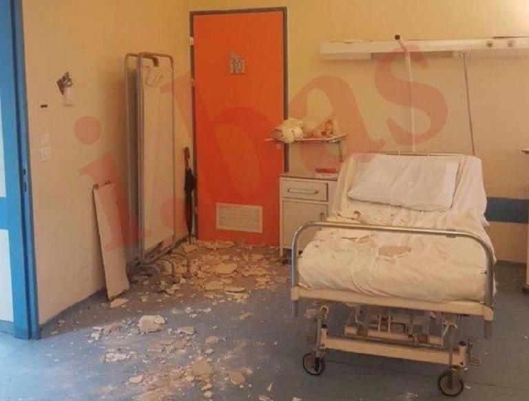 Κατέρρευσε το ταβάνι στο Νοσοκομείο Νίκαιας – Τραυματίστηκε μητέρα νοσηλευόμενου [pics, video] | tlife.gr