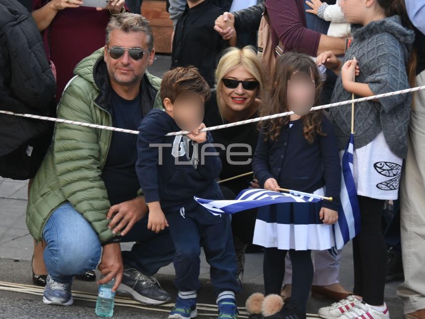 Φαίη Σκορδά – Γιώργος Λιάγκας: Μαζί για χάρη των γιων τους! Φωτογραφίες   tlife.gr
