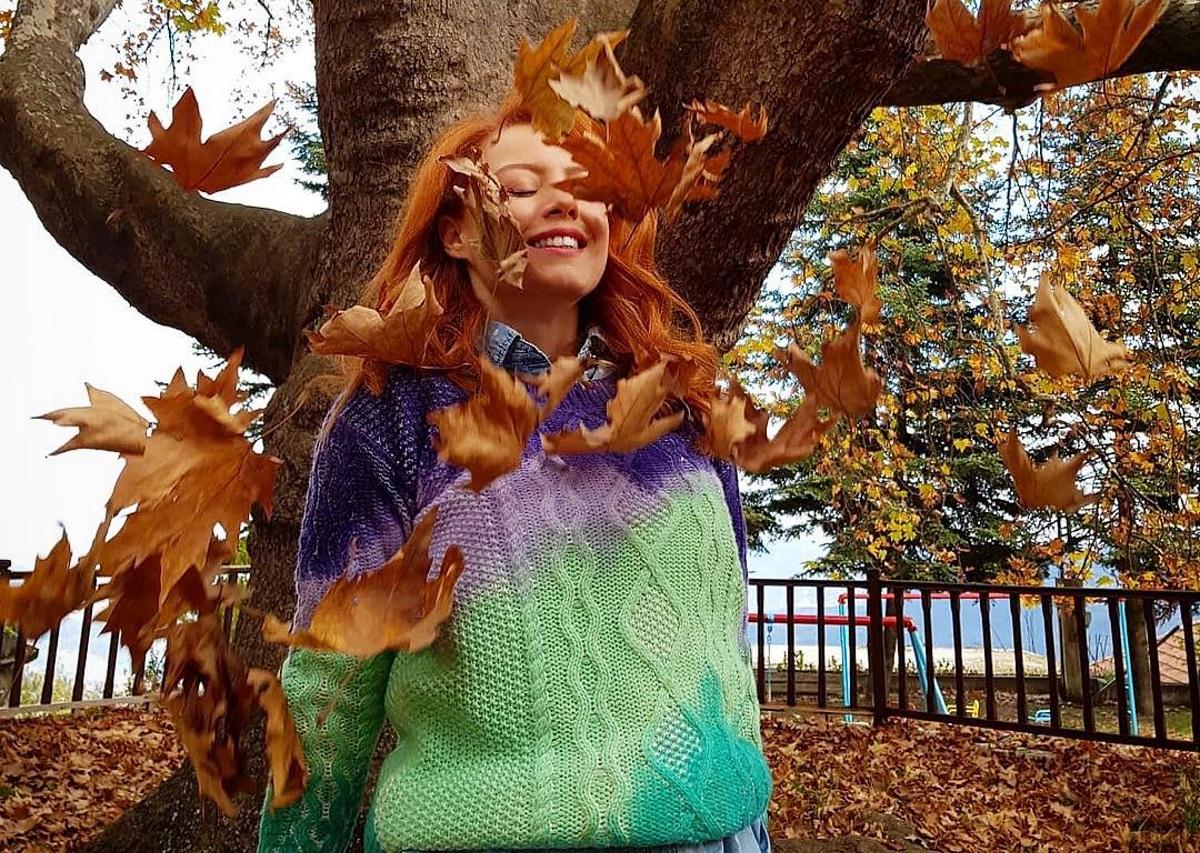 Άντα Λιβιτσάνου: Φθινοπωρινή απόδραση στην Κορινθία [pics] | tlife.gr