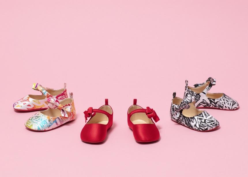 Louboutin Baby: Μία limited edition συλλογή για μωρά από τον μετρ του γυναικείου παπουτσιού