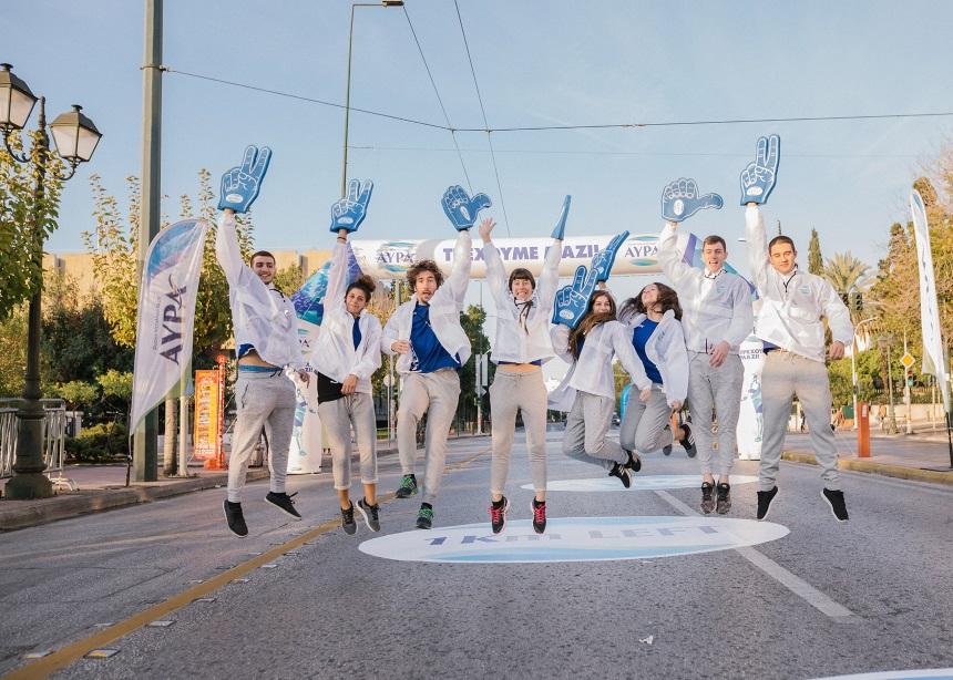 Ο Αυθεντικός Μαραθώνιος ολοκληρώθηκε με το Φυσικό Μεταλλικό Νερό ΑΥΡΑ να βρίσκεται δίπλα στους αθλητές   tlife.gr