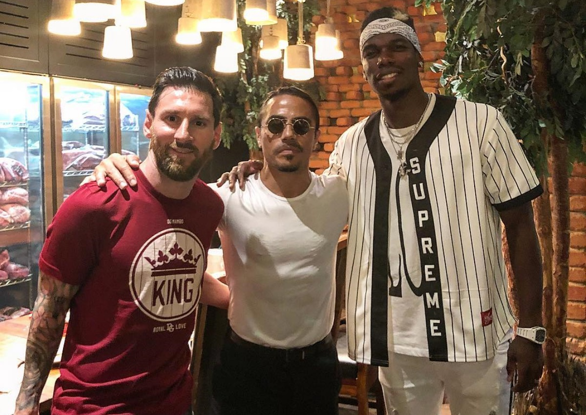 Lionel Messi: Δείπνησε με τη σύζυγο του στο εστιατόριο του Nusret στο Dubai! | tlife.gr