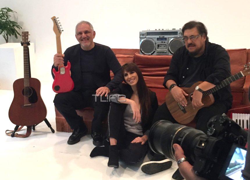 Μαχαιρίτσας – Πορτοκάλογλου – Πάχου: Στα backstage της φωτογράφησης για το Γυάλινο Μουσικό Θέατρο! | tlife.gr
