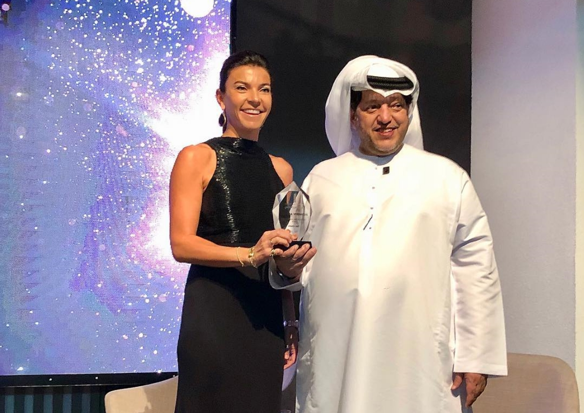 Μαρίνα Βερνίκου: Βραβεύτηκε στο Ντουμπάι και έκλεψε τις εντυπώσεις! [pics,vid] | tlife.gr