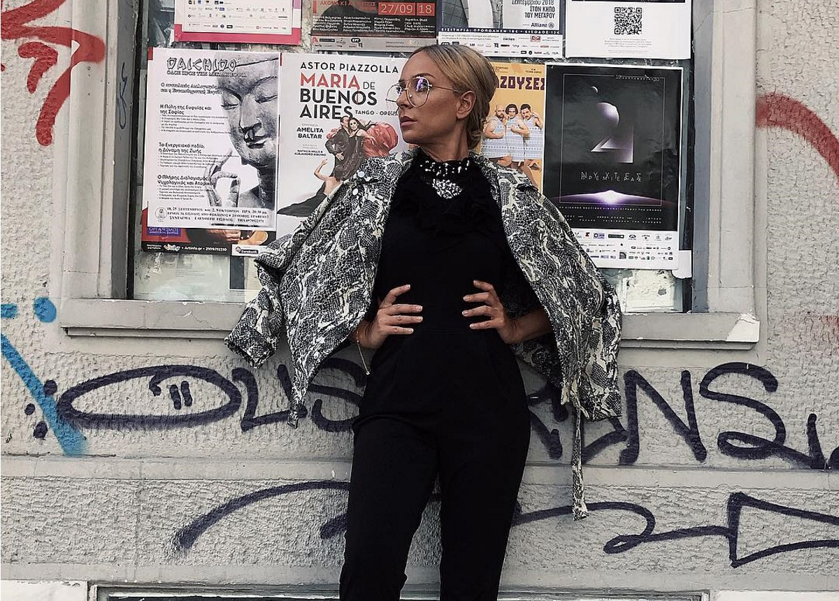 My Style Rocks: Όσα δεν γνωρίζεις για την Τζίνα Δημητρακοπούλου που αγαπά την ομορφιά και την μόδα | tlife.gr