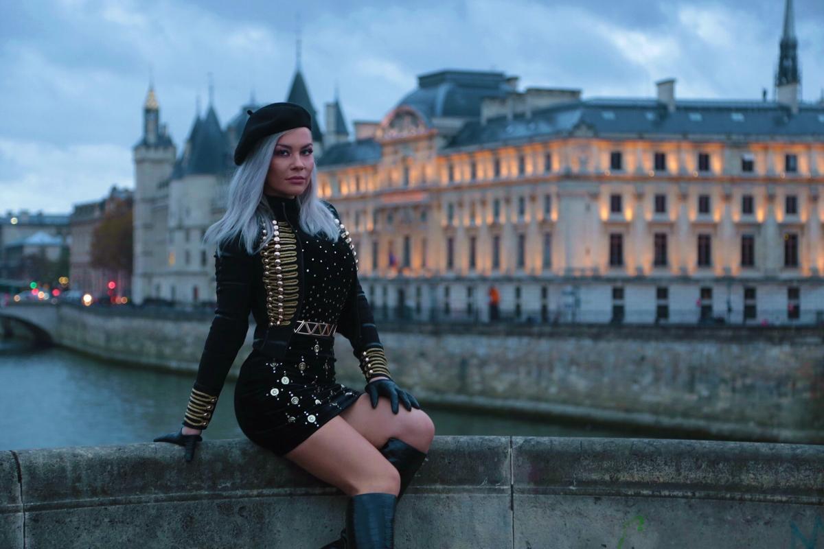 Νάγια: Στο Παρίσι για τα γυρίσματα του νέου της video clip! Backstage φωτογραφίες | tlife.gr