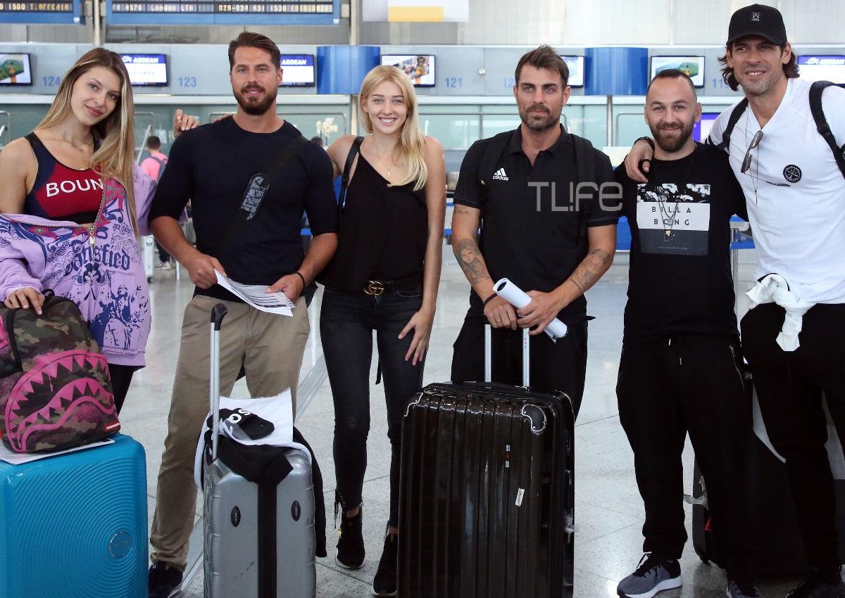 Οι Survivors έφυγαν για το Nomads: Καρέ-καρέ η αναχώρησή τους από το αεροδρόμιο! Φωτογραφίες | tlife.gr