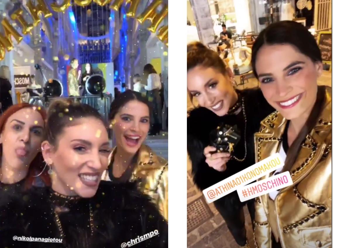 Girl's night out: Βραδινή έξοδος για Αθηνά Οικονομάκου και Χριστίνα Μπόμπα! [pics,vid]   tlife.gr