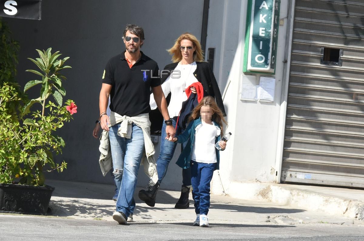 Αλέξανδρος Παρθένης: Βόλτες με την σύντροφό του και τα παιδιά της! | tlife.gr