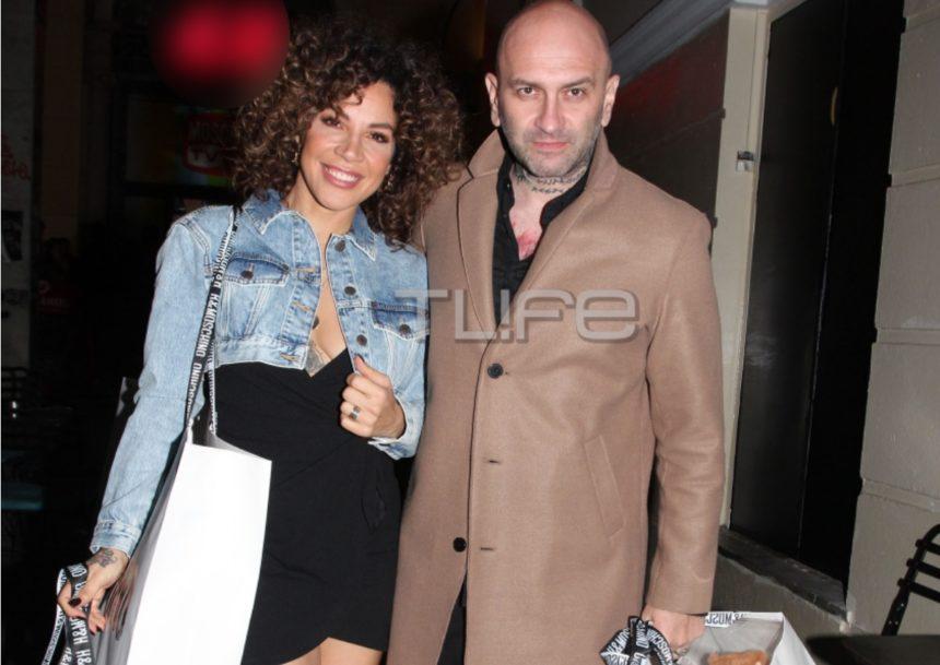 Μαριάντα Πιερίδη: Chic εμφάνιση με τον σύζυγο της Δημήτρη Κατριβέση! | tlife.gr