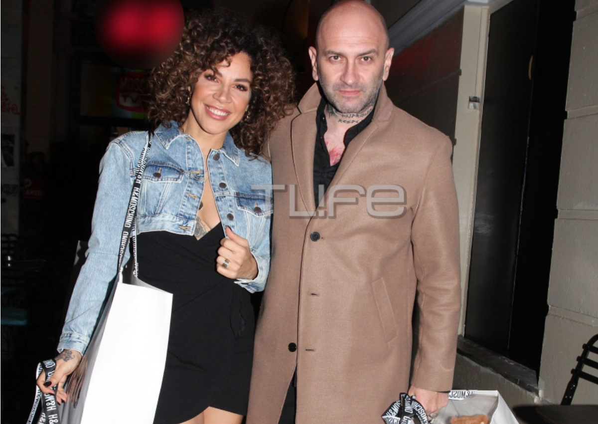 Μαριάντα Πιερίδη: Chic εμφάνιση με τον σύζυγο της Δημήτρη Κατριβέση!   tlife.gr