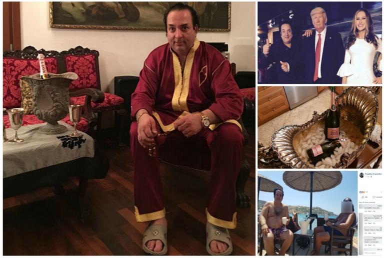 Ριχάρδος: Χλιδή και σαμπάνια το προφίλ του στο Facebook!   tlife.gr