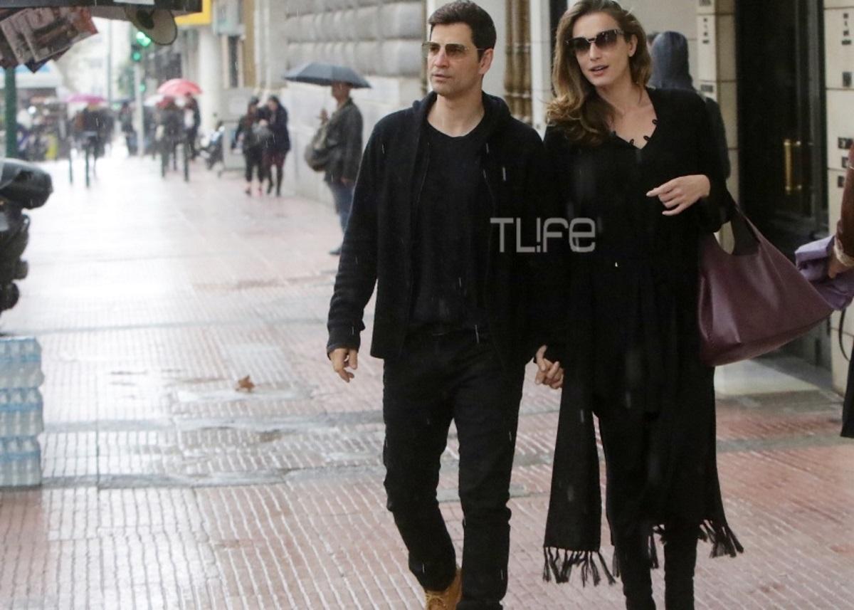 Σάκης Ρουβάς – Κάτια Ζυγούλη: Η Κυριακάτικη οικογενειακή βόλτα στο κέντρο της Αθήνας [pic] | tlife.gr
