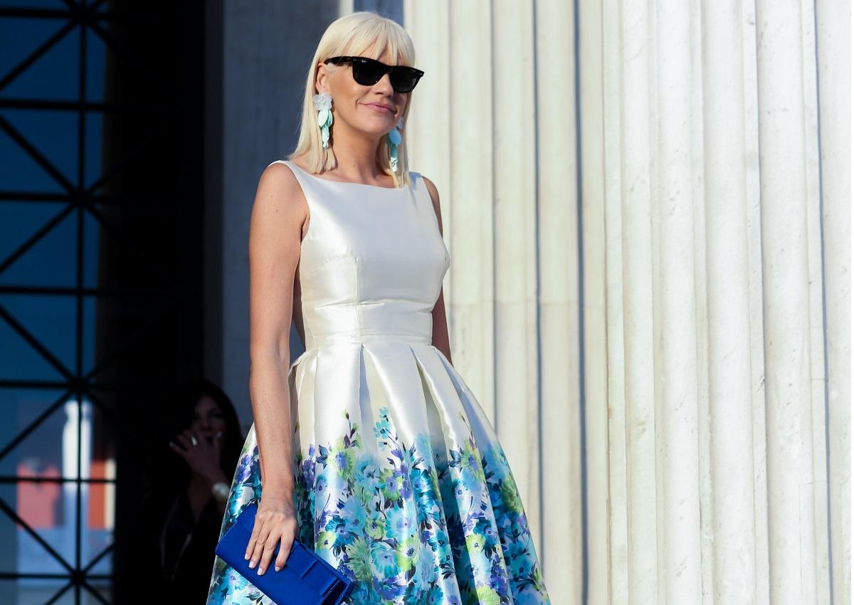 Σάσα Σταμάτη: Η chic εμφάνισή της στο fashion show του Βασίλη Ζούλια! [pics]   tlife.gr