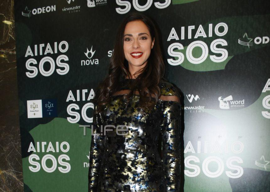Ευαγγελία Συριοπούλου: Κομψή εμφάνιση στην πρεμιέρα της ταινίας της, «Αιγαίο SOS» [pics] | tlife.gr