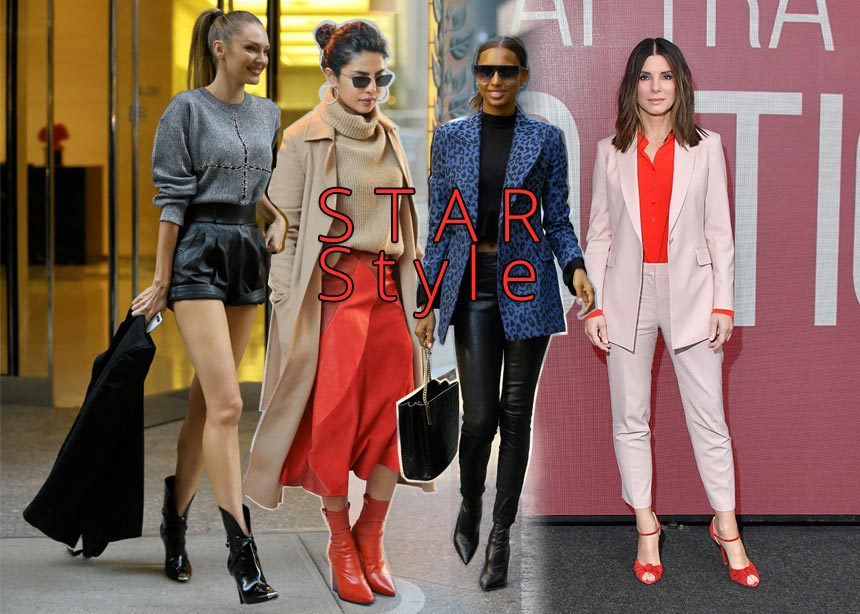 Τα stylish looks που φόρεσαν οι διάσημες αυτή την εβδομάδα! Ψήφισε την πιο καλοντυμένη | tlife.gr