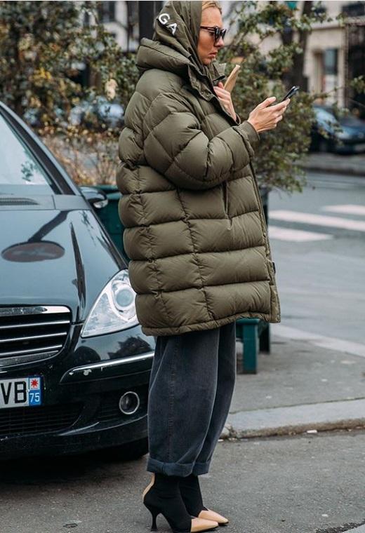 Παρίσι με puffer jacket | tlife.gr