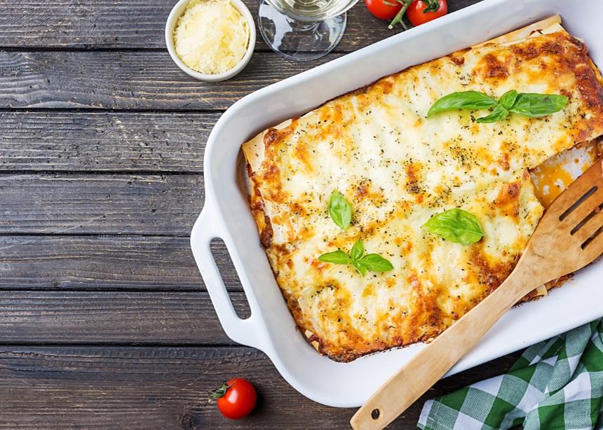 Μια νοστιμότατη συνταγή με λαζάνια… Το απόλυτο comfort food! | tlife.gr