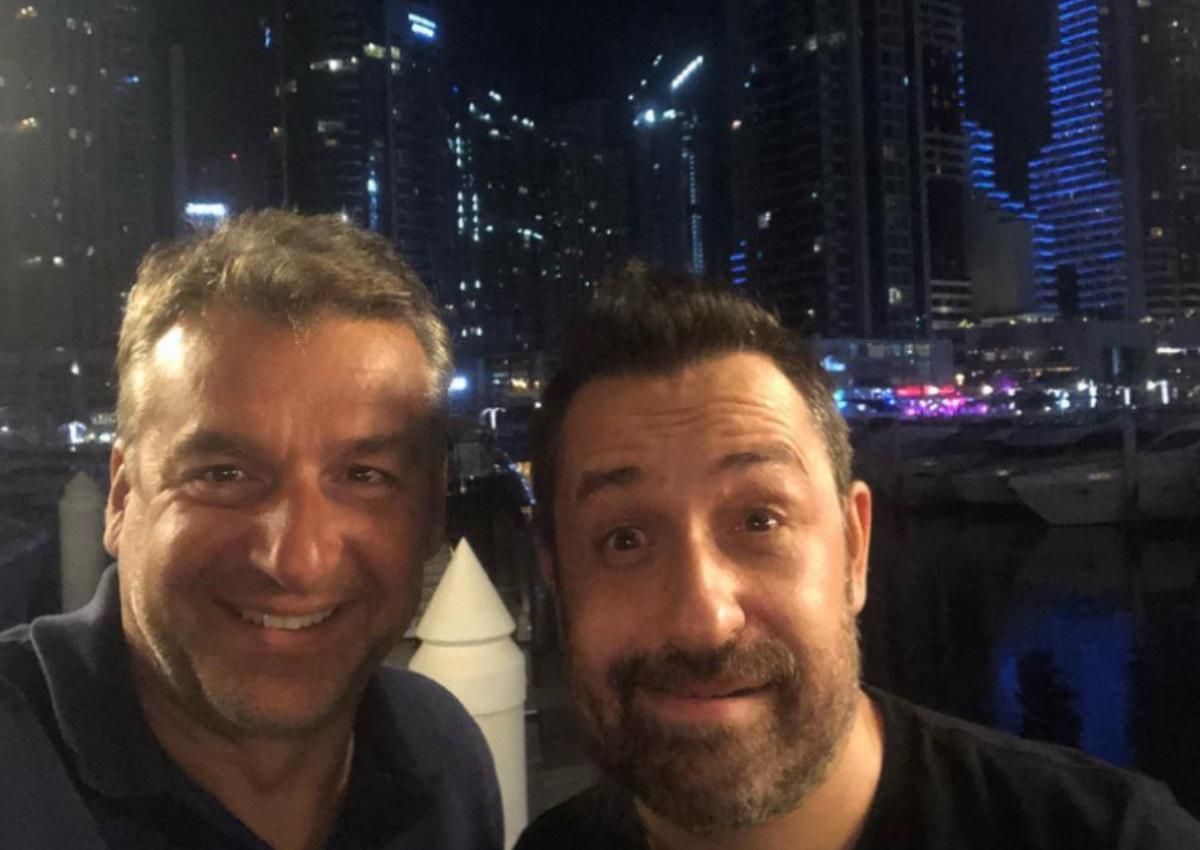 Γιώργος Λιάγκας – Θέμης Γεωργαντάς: Oι selfies τους από το Dubai καπνίζοντας ναργιλέ![pics] | tlife.gr