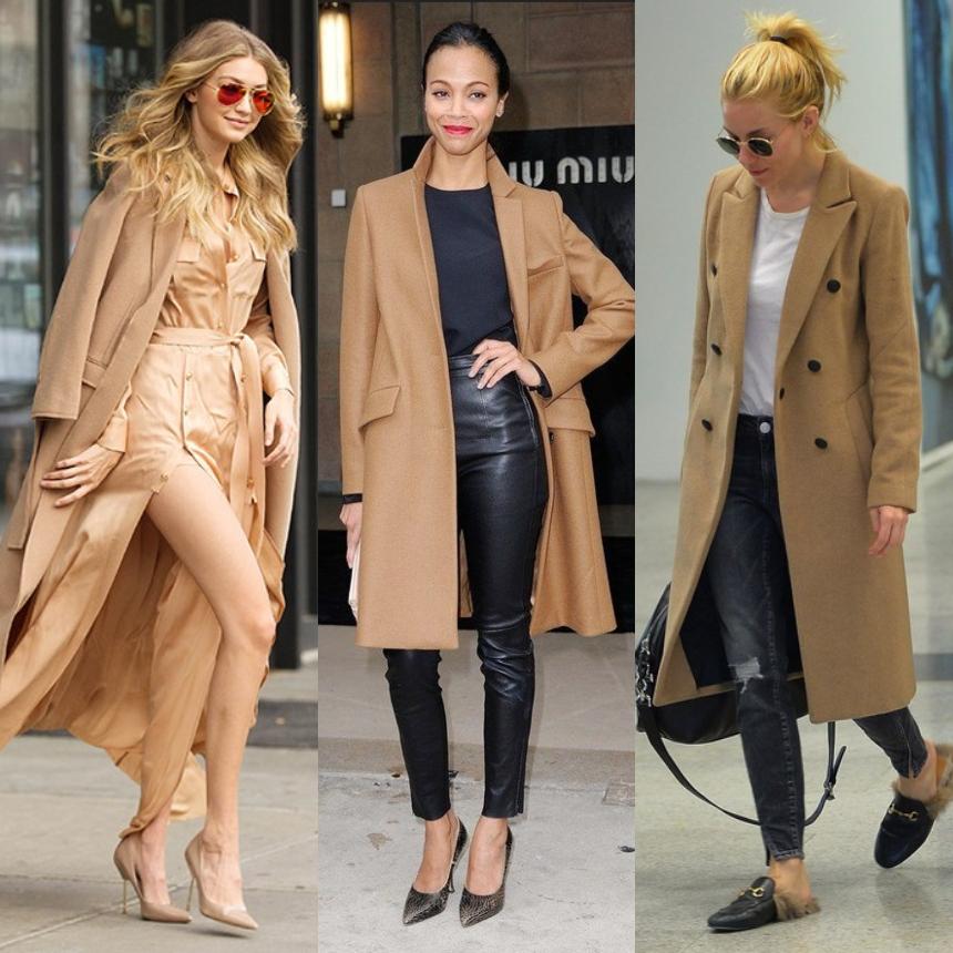 Οι σταρ επιλέγουν camel coat | tlife.gr