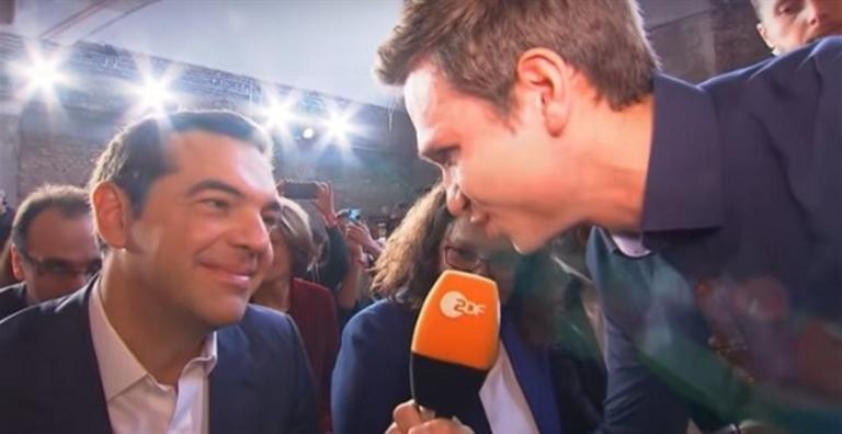 ΝΔ για Τσίπρα και Γερμανό κωμικό του ZDF: Γελούσε ενώ χλεύαζαν τη χώρα   tlife.gr