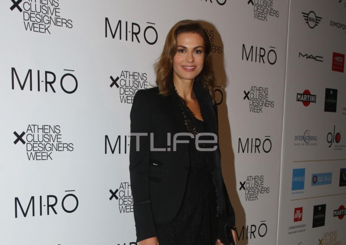 Τζίνα Αλιμόνου: Σπάνια έξοδος μετά από καιρό! Η chic εμφάνισή της σε επίδειξη μόδας [pics] | tlife.gr