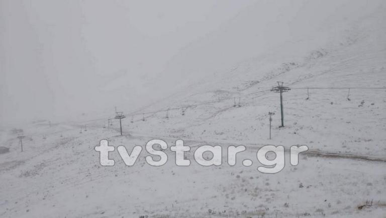 Καιρός: Μαγικές εικόνες! Έπεσαν τα πρώτα χιόνια στα ορεινά – video   tlife.gr
