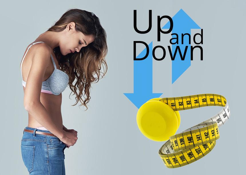 Αυξομείωση βάρους ή φαινόμενο yo – yo: Που οφείλεται και πως θα μείνεις σταθερή στα κιλά σου