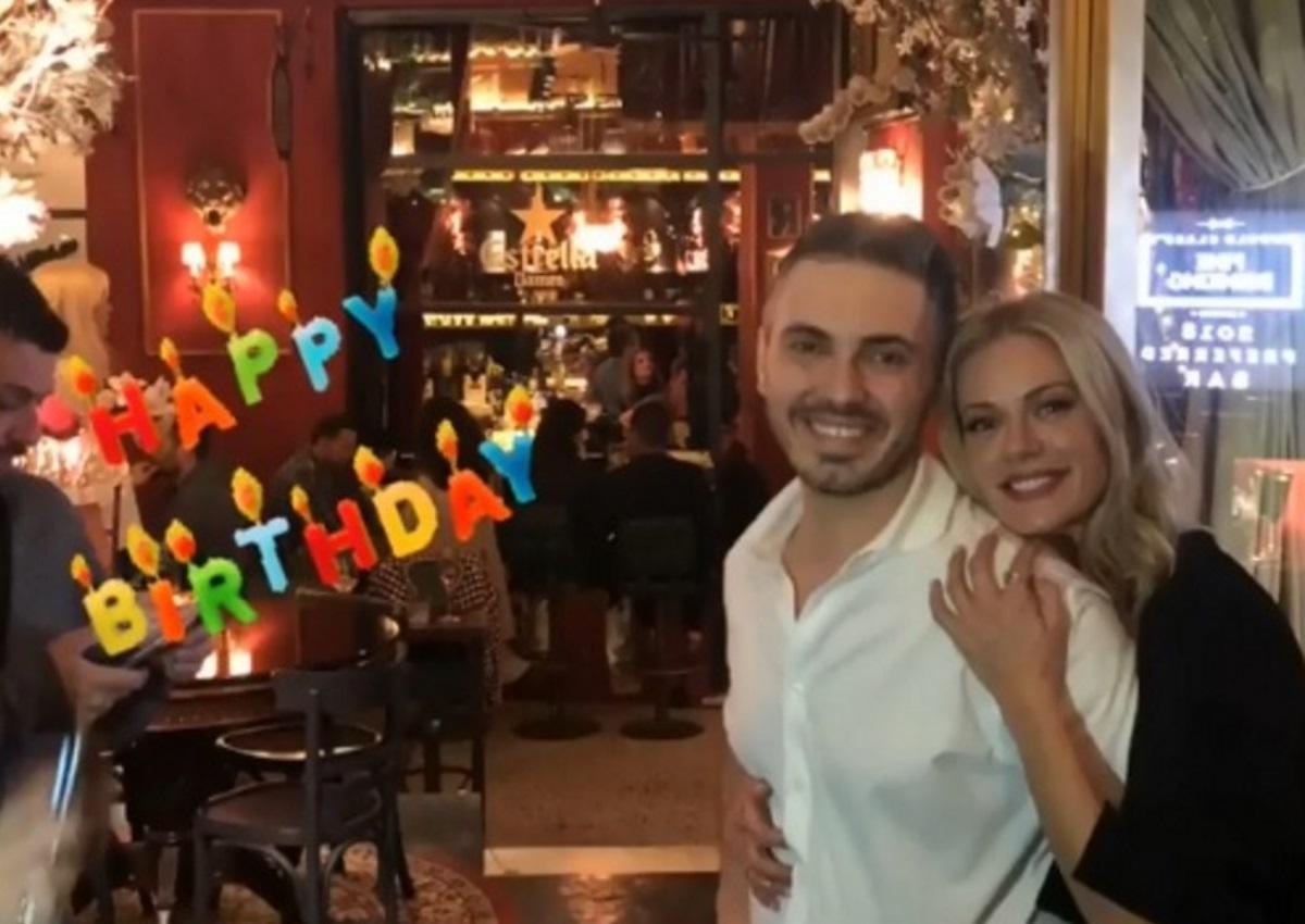 Γενέθλια για τον Μιχάλη Χατζηγιάννη: Η τούρτα-υπερπαραγωγή και το τρυφερό φιλί με τη Ζέτα Μακρυπούλια! | tlife.gr