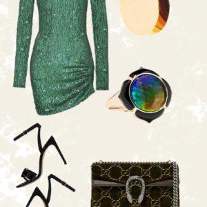 Το lux sequin φόρεμα